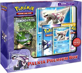 Pokemon Palkia Premium Box [1 Deck, 2 D&P Booster Packs, 1 Palkia Foil Card & 1 Oversized Palkia Card]