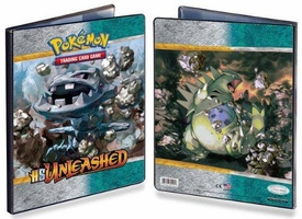 Pokemon Card Game Supplies 9-Pocket Binder HS Unleashed [Steelix]