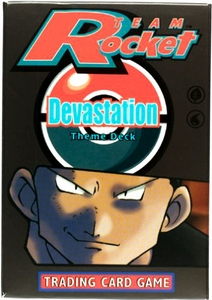Pokemon Team Rocket Theme Deck Devastation