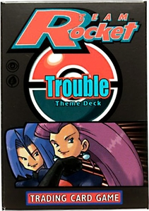 Pokemon Team Rocket Theme Deck Trouble