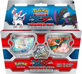 Pokemon Card Game X & Y 2-Player Trainer Kit [Sylveon vs. Noivern] New!