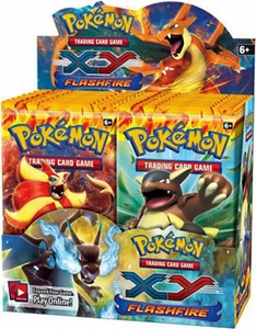 Pokemon Flashfire (XY2) Booster BOX [36 Packs] Hot!
