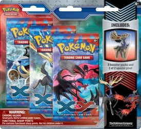 Pokemon Card Game X & Y Xerneas Pin Pack New!
