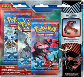 Pokemon Card Game X & Y Yveltal Pin Pack
