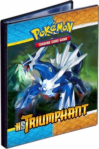 Pokemon Card Supplies 4-Pocket Binder HS Triumphant [Palkia & Dialga]