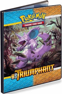 Pokemon Card Supplies 9-Pocket Binder HS Triumphant