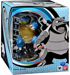Pokemon D-Arts 6 Inch Action Figure Blastoise New!