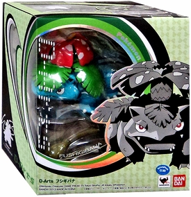 Pokemon D-Arts 6 Inch Action Figure Venusaur New!