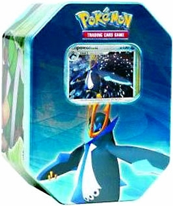 Pokemon Diamond & Pearl 2007 Holiday Tin Set Empoleon with LV.X Foil Card