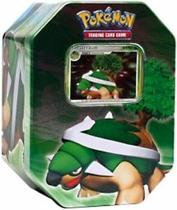 Pokemon Diamond & Pearl 2007 Holiday Tin Set Torterra with LV.X Foil Card