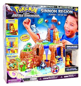 Pokemon Diamond & Pearl Battle Dimension Sinnoh Region Playset Version 2
