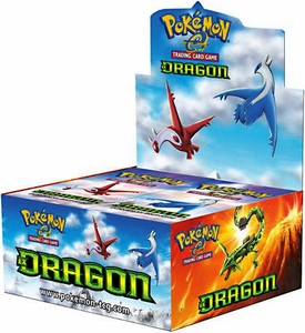 Pokemon-e EX Dragon Booster BOX [36 Packs]