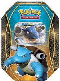 Pokemon Fall 2014 Tin Set Blastoise-EX New!