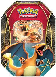 Pokemon Fall 2014 Tin Set Charizard-EX New!
