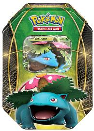 Pokemon Fall 2014 Tin Set Venusaur-EX New!