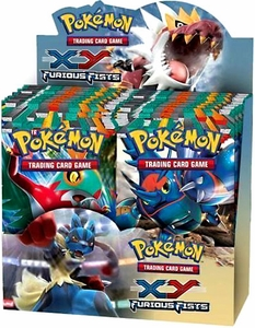Pokemon Furious Fists (XY3) Booster BOX [36 Packs]