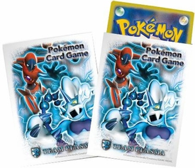 Pokemon JAPANESE Card Supplies Card Sleeves Black & White Deoxys Team Plasma [32 Sleeves]