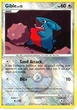 Pokemon League Promo Single Card #106 Gible