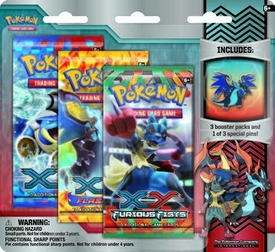Pokemon Mega Evolution Collector Pin Pack [Mega Blue Dragon Charizard Pin] New!