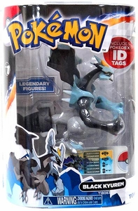 Pokemon TOMY 4 Inch PVC Legendary Figure Black Kyurem