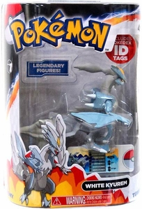 Pokemon TOMY 4 Inch PVC Legendary Figure White Kyurem