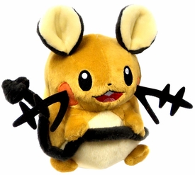 Pokemon X & Y TOMY 8 Inch Basic Plush Dedenne New!