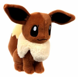 Pokemon TOMY 8 Inch Basic Plush Eevee New!