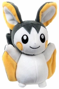 Pokemon TOMY 8 Inch Basic Plush Emolga New!