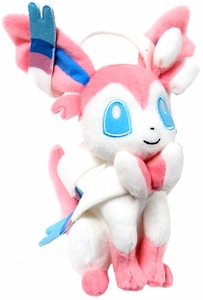 Pokemon X & Y TOMY 8 Inch Basic Plush Sylveon New!