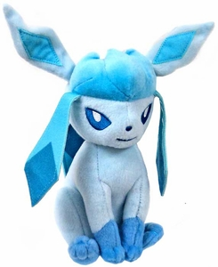 Pokemon TOMY 8 Inch Evolutions Plush Glaceon New!