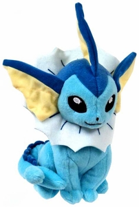 Pokemon TOMY 8 Inch Evolutions Plush Vaporeon New!