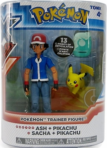 Pokemon TOMY Trainer Action Figure Ash & Pikachu