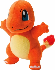 Pokemon TOMY Trainer's Choice Exclusive 8 Inch Plush Charmander