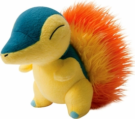 Pokemon TOMY Trainer's Choice Exclusive 8 Inch Plush Cyndaquil