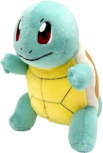 Pokemon TOMY Trainer's Choice Exclusive 8 Inch Plush Squirtle