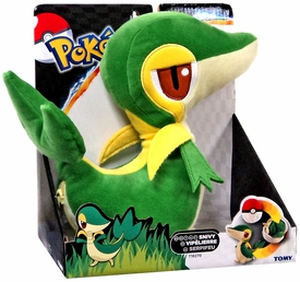 Pokemon TOMY Transforming Poke Ball Plush Snivy