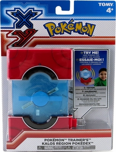 Pokemon TOMY XY Pokedex [Kalos Region]