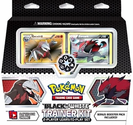Pokemon Black & White Trainer Kit [Excadril & Zoroark]