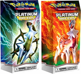 Pokemon Trading Card Game Platinum Arceus Set of Both Theme Decks [Flamemaster & Stormshaper]