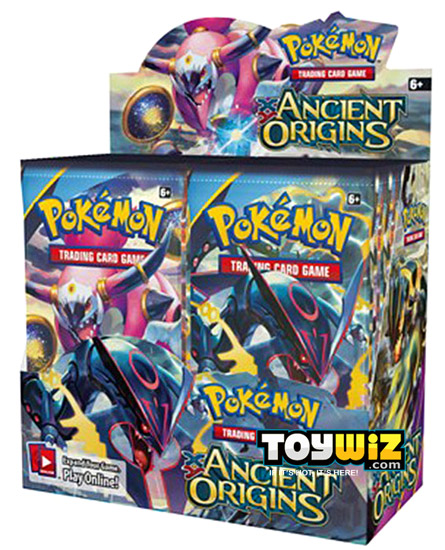 Pokemon Ancient Origins Booster Box On Sale at ToyWiz.com
