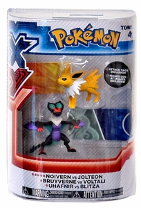 Pokemon XY TOMY Basic Figure 2-Pack Noivern & Jolteon