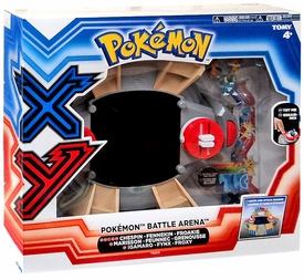 Pokemon X & Y TOMY Battle Arena Playset Chespin, Fennekin & Froakie Figures