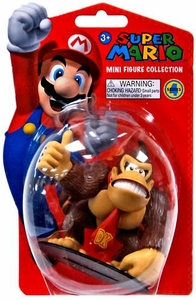 Popco Super Mario Brothers Series 4 Vinyl Mini Figure Donkey Kong