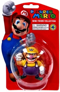 Popco Super Mario Brothers Series 4 Vinyl Mini Figure Wario