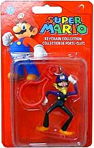 Popco Super Mario Series 2 Mini Figure Keychain Waluigi