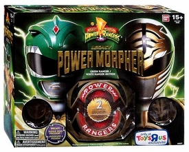 Power Rangers Exclusive 20th Anniversary Mighty Morphin Legacy Power Morpher [Green Ranger / White Ranger Edition]