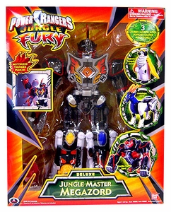 Power Rangers Jungle Fury Deluxe Jungle Master Megazord