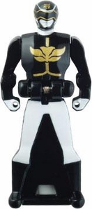Power Rangers LOOSE Black Megaforce Ranger Key