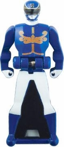 Power Rangers LOOSE Blue Megaforce Ranger Key