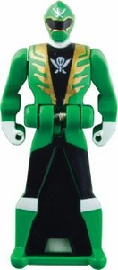 Power Rangers LOOSE Green Super Megaforce Ranger Key